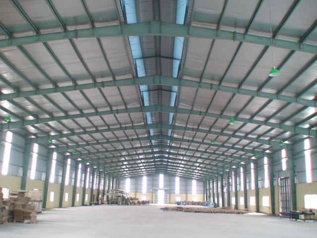 mái xếp mái che di động cho khu công nghiệp