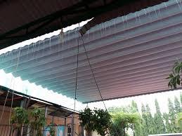 Lắp đặt mái che di động, mái bạt xếp, mái bạt lùa kéo sóng tại TP sầm sơn thanh hóa