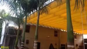 Lắp đặt mái che di động, mái bạt xếp, mái bạt lùa kéo sóng tại TPtam kỳ quảng nam