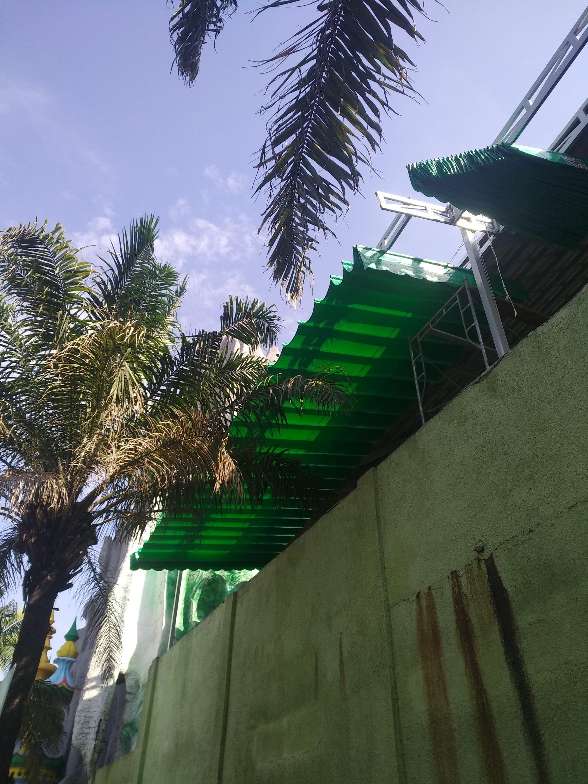 Lắp đặt mái che di động, mái bạt xếp, mái bạt lùa kéo sóng tại TPđông hà quảng trị