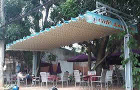 Lắp đặt mái che di động, mái bạt xếp, mái bạt lùa kéo sóng tại TP hội an quảng nam