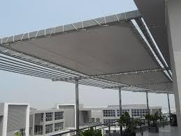 Lắp đặt mái che di động, mái bạt xếp, mái bạt lùa kéo sóng tại TP phan rang-tháp chàm ninh thuận