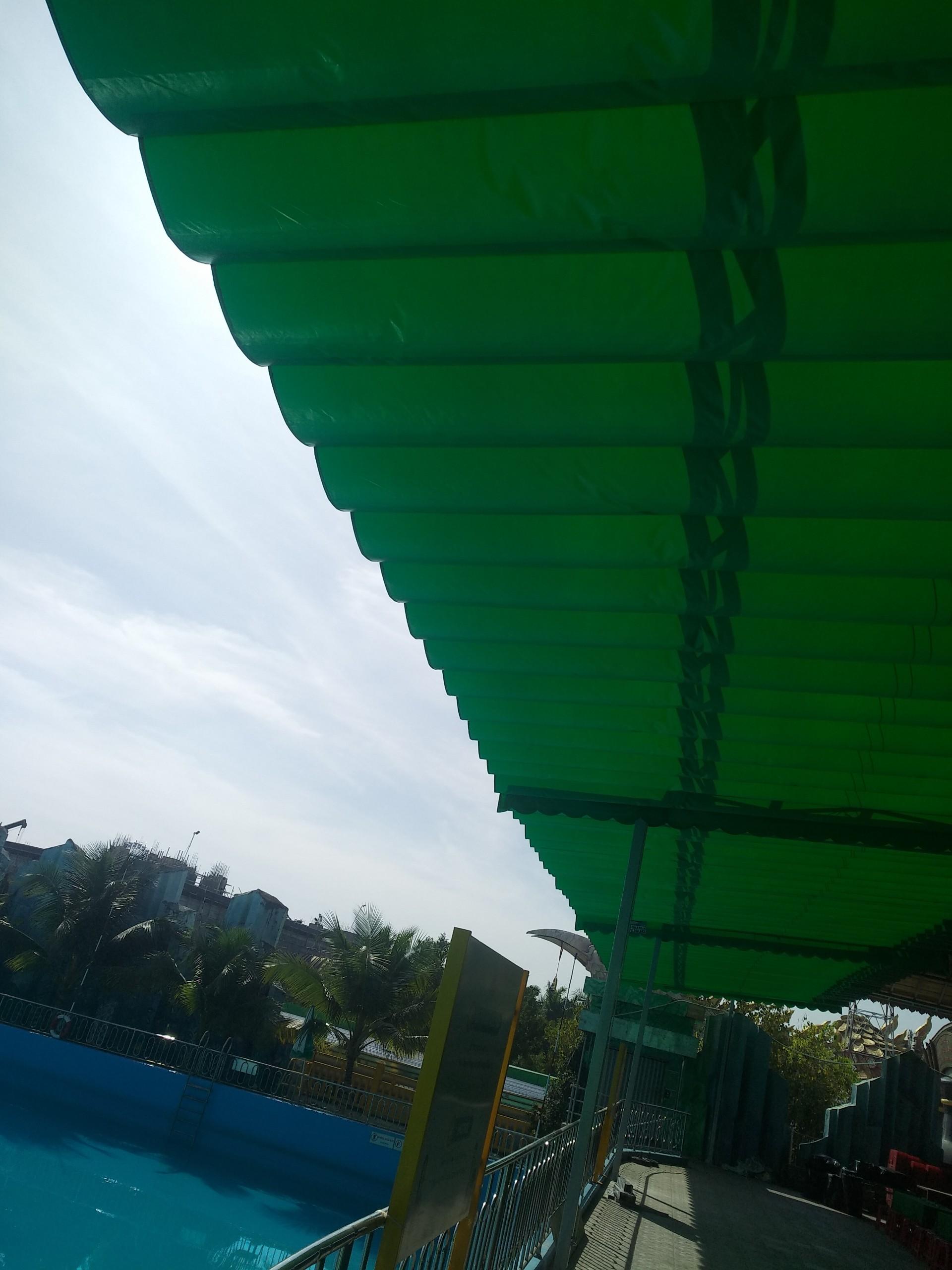 Lắp đặt mái che di động, mái bạt xếp, mái bạt lùa kéo sóng tại tp cần thơ