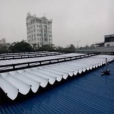 Lắp đặt mái che di động, mái bạt xếp, mái bạt lùa kéo sóng tại TP kom tum