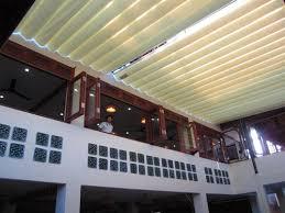 Lắp đặt mái che di động, mái bạt xếp, mái bạt lùa kéo sóng tại TP hà giang
