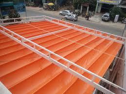 Lắp đặt mái che di động, mái bạt xếp, mái bạt lùa kéo sóng tại huyện thống nhất