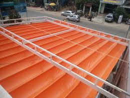 Lắp đặt mái che di động, mái bạt xếp, mái bạt lùa kéo sóng tại TP tam điệp ninh bình