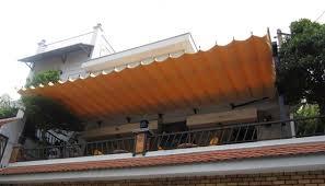 Lắp đặt mái che di động, mái bạt xếp, mái bạt lùa kéo sóng tại TP pleiku gia lai