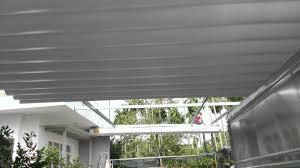 Lắp đặt mái che di động, mái bạt xếp, mái bạt lùa kéo sóng tại quận 9 TP hồ chí minh