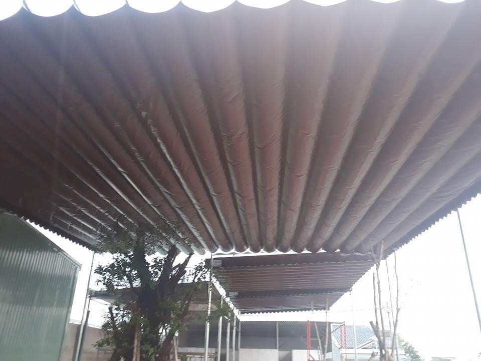 Lắp đặt mái che di động, mái bạt xếp, mái bạt lùa kéo sóng tại quận 3