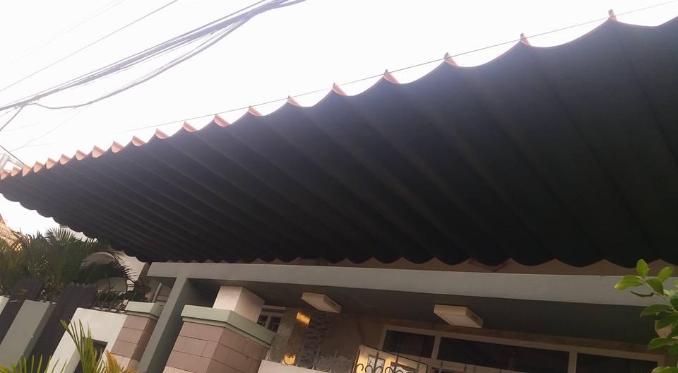 Lắp đặt mái che di động, mái bạt xếp, mái bạt lùa kéo sóng tại quận 4