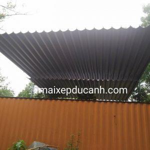 Lắp đặt mái che di động, mái bạt xếp, mái bạt lùa kéo sóng tại huyện phú giáo