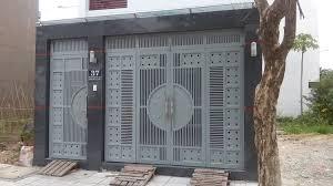 mẫu cửa cổng sắt cao cấp